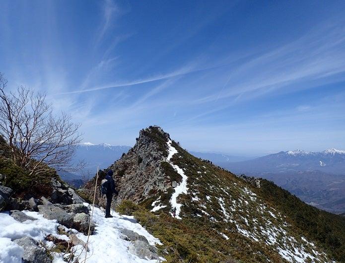 金峰山の山道