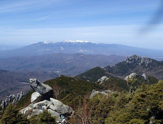 金峰山から見える山