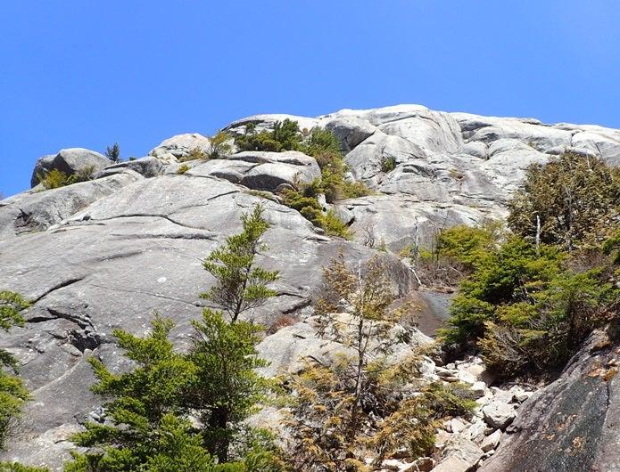 金峰山の大日岩