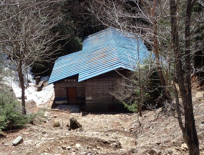金峰山の大日小屋