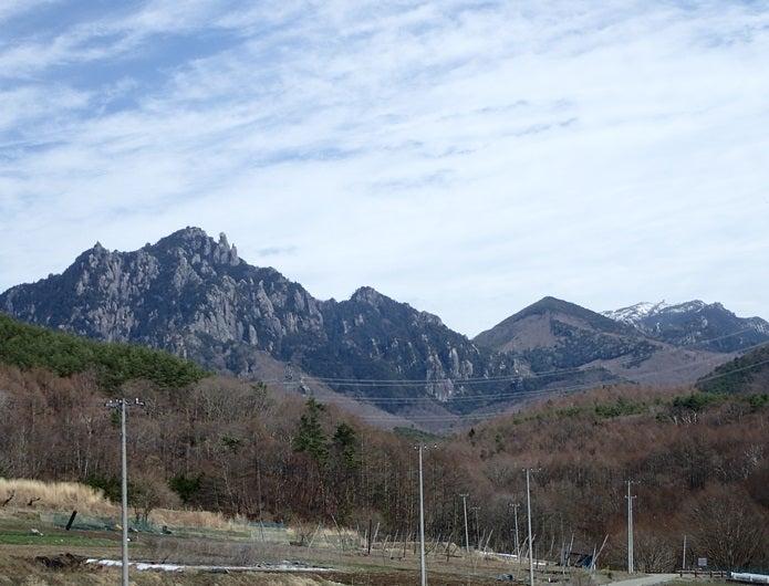 金峰山の山々