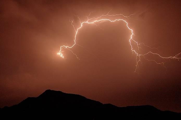山の常識 雷