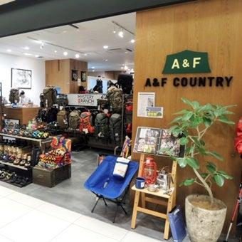 アウトドアショップのA&F Country
