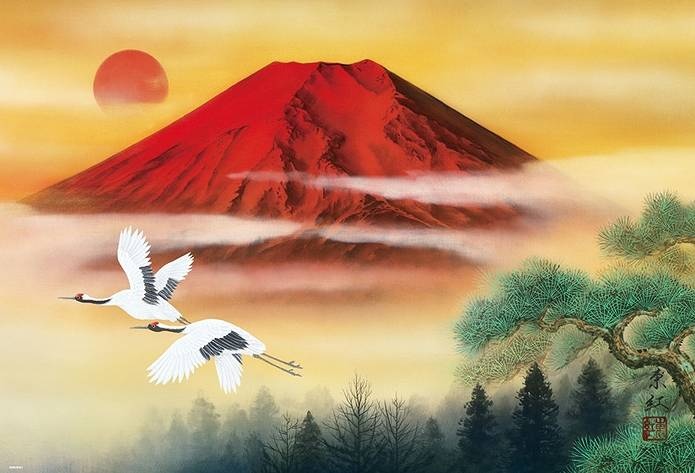 赤富士開運