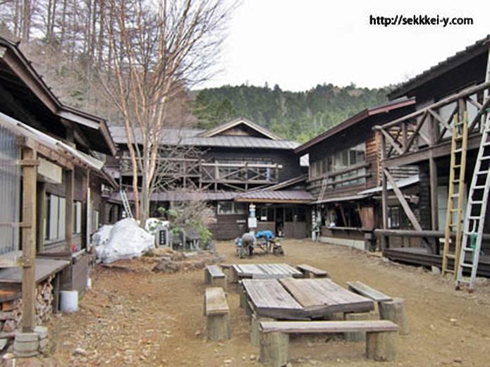 山小屋 本沢温泉