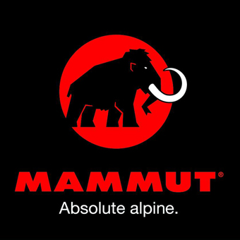 登山ブランドのマムートのロゴ