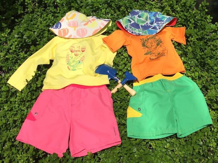 パタゴニアベビーの夏服