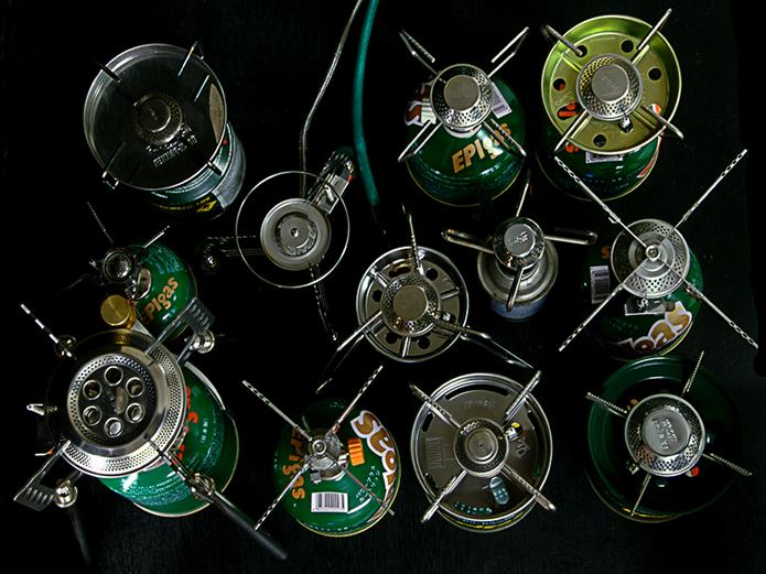 EPIgasの様々な種類のガスバーナー