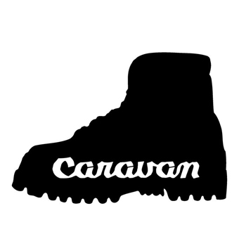 登山ブランドのキャラバンのロゴ