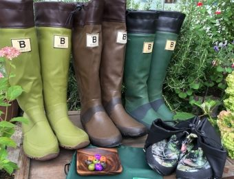 野鳥の会の長靴3種類