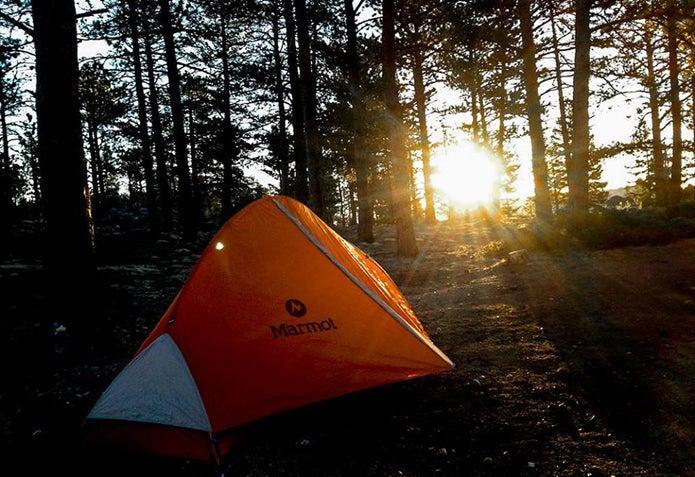 登山ブランドのマーモットのテント