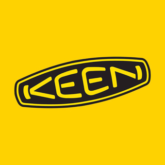 登山ブランドのキーンのロゴ