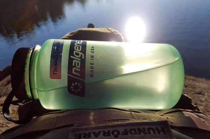 登山ブランドのナルゲンボトル
