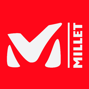登山ブランドのミレーのロゴ