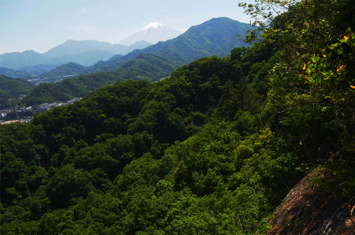 岩殿山 富士山展望