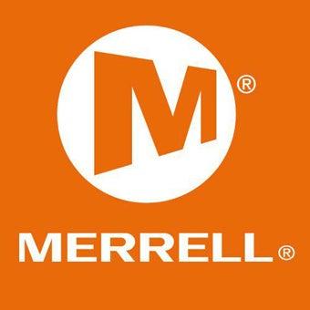登山ブランドのメレルのロゴ