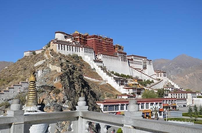 高山病 チベットラサ