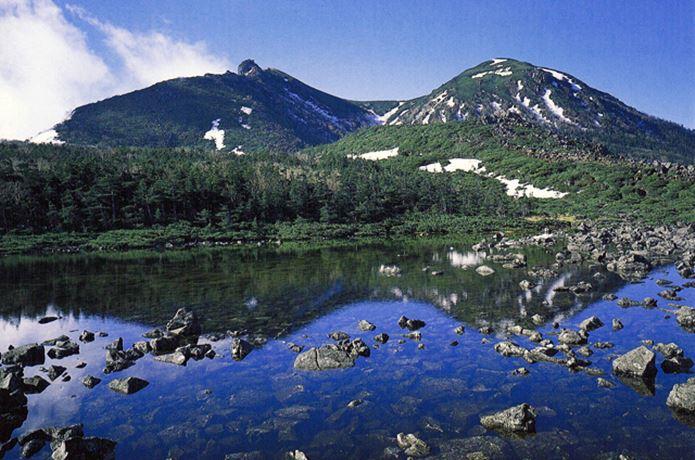 八ヶ岳登山の風景