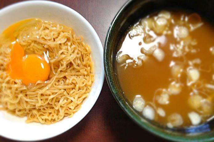 チキンラーメン付け麺風