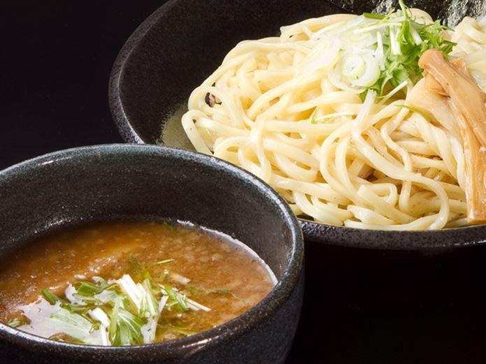サバ缶レシピのつけ麺
