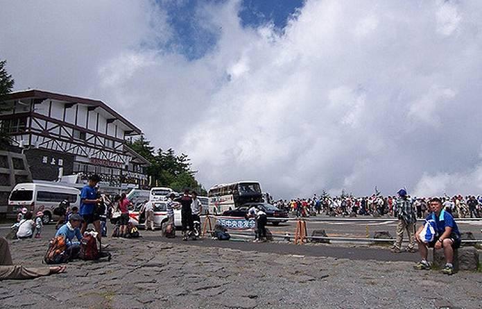 富士山 天気 5合目