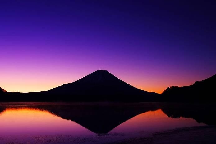 富士山 画像 シルエット