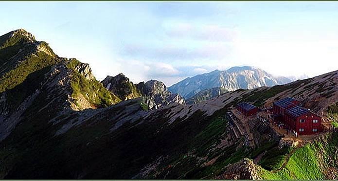 山小屋 唐松岳頂上山荘