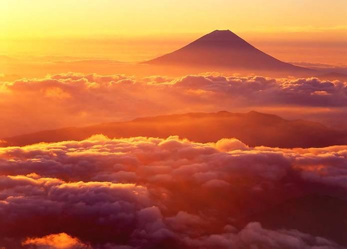富士山 画像 北岳から