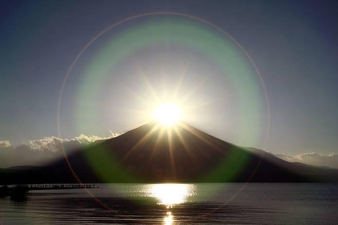 富士山 画像 ダイヤモンド