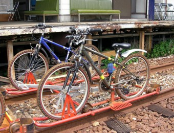 レールマウンテンバイク