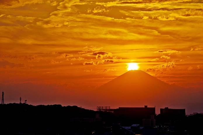 富士山 画像 湘南ダイヤモンド