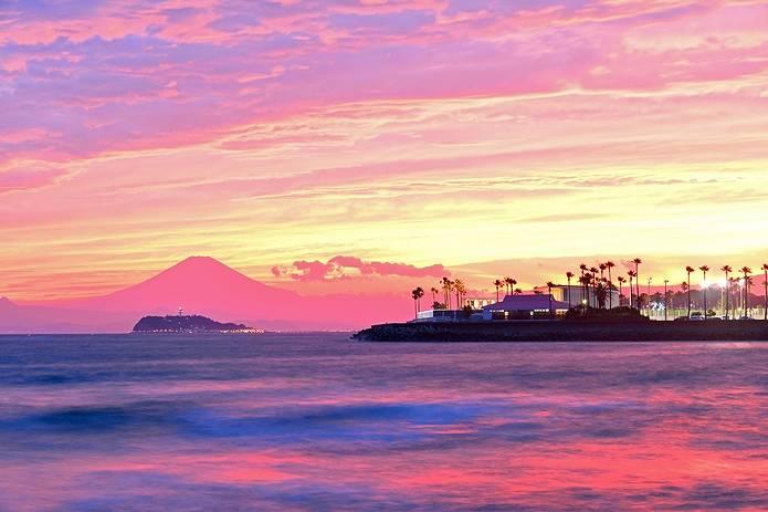 富士山 画像 湘南
