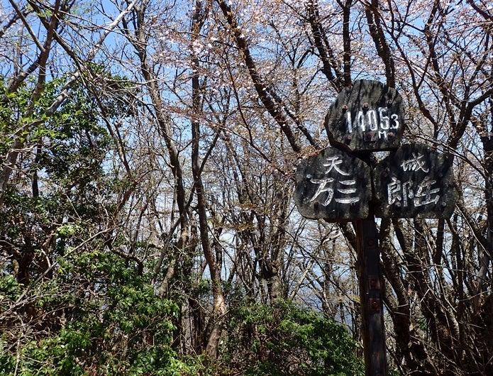 天城山の標識