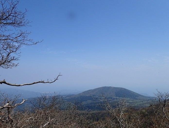 天城山から見た景色
