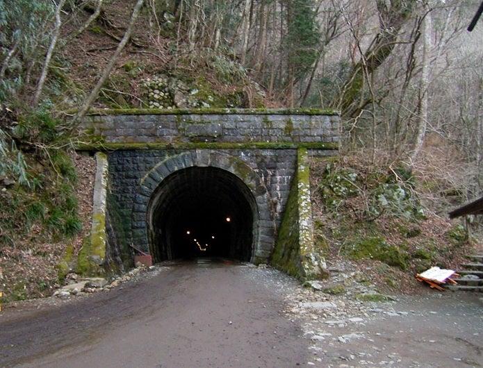 天城山の天城トンネル