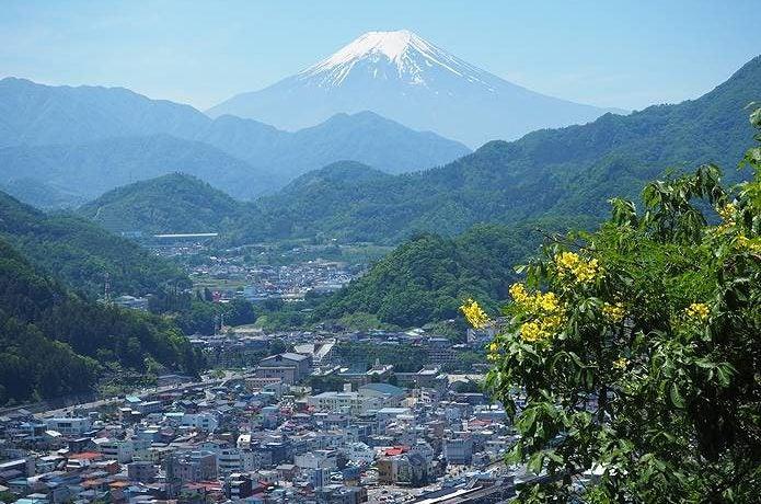 岩殿山 富士山大展望