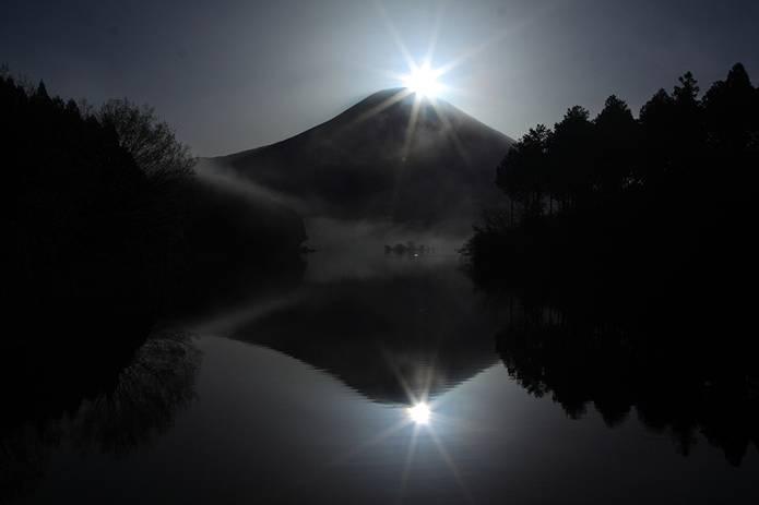 富士山 画像 ダブルダイヤモンド富士