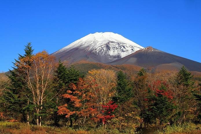 富士山 天気 秋