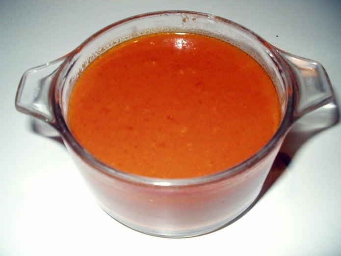 トマト缶で冷静スープ