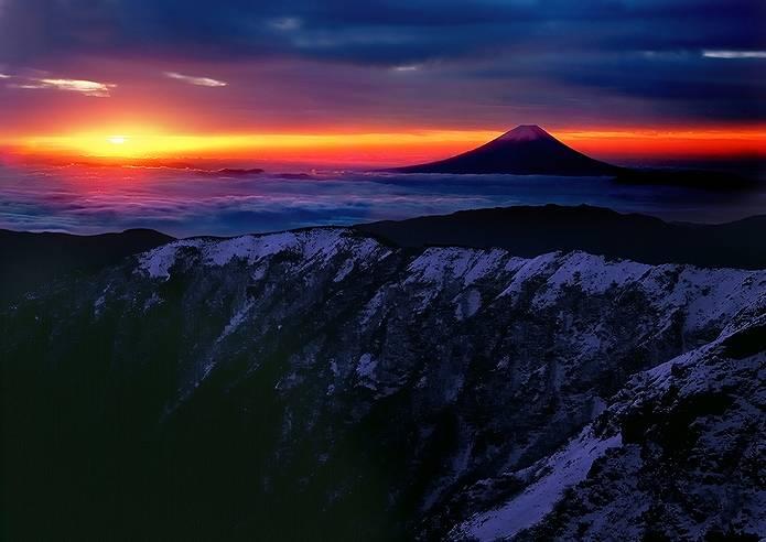 富士山 画像 雲海
