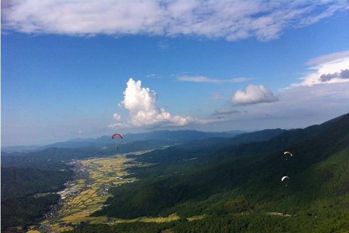 阪神スカイスポーツ パラグライダースクールでの光景