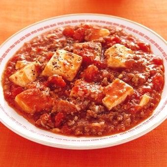 トマト缶の麻婆豆腐