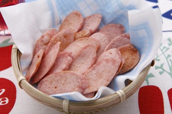 魚肉ソーセージ、ソーセージチップ