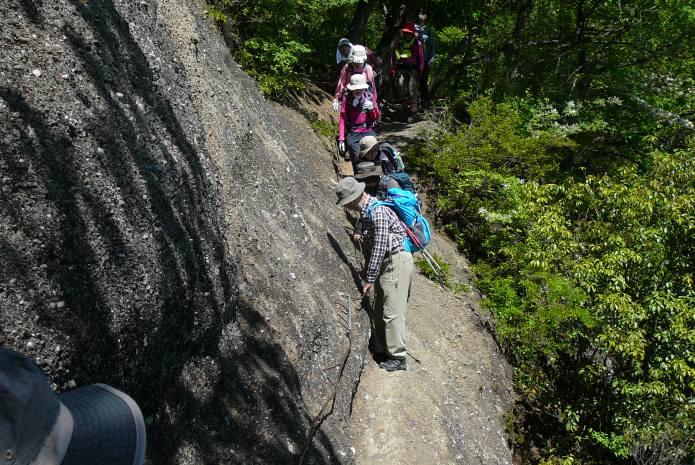 登山ツアー 岩殿山
