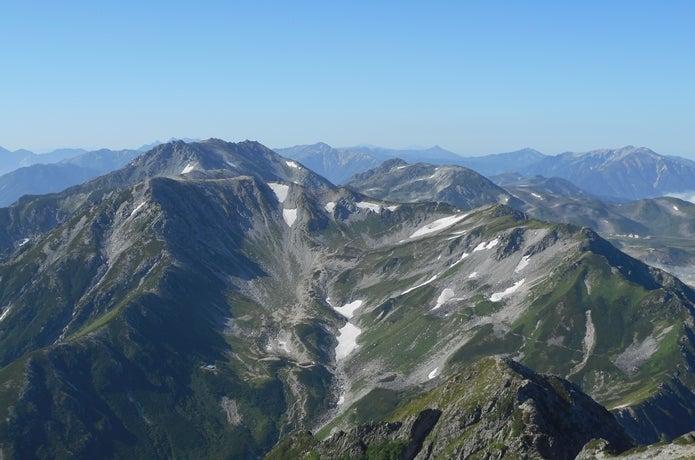 鷲羽岳の画像
