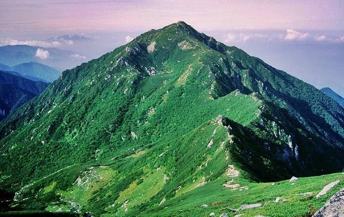 中央アルプス 三ノ沢岳