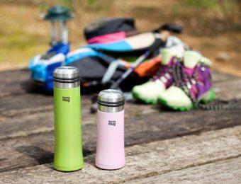 二種類のサーモマグのボトル