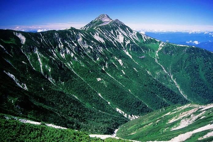 北アルプス 笠ヶ岳