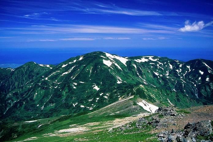 北アルプス 剱~日本海まで縦走
