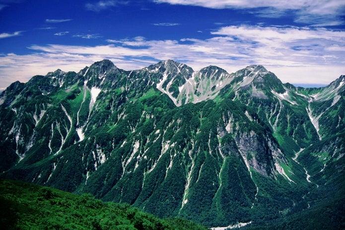 北アルプス 穂高岳